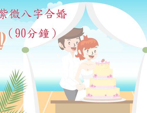 紫微八字合婚(90分鐘)
