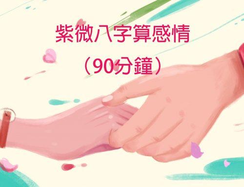 紫微八字算感情(90分鐘)